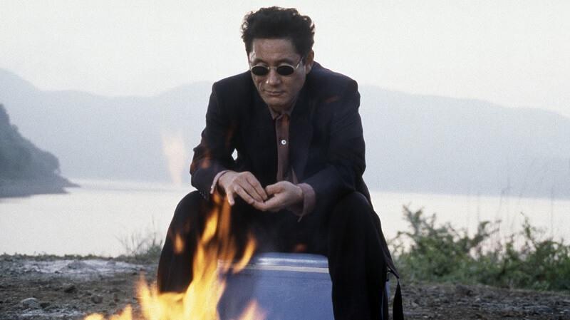 Fogo de Artifício 1997 filme classico japones imagem
