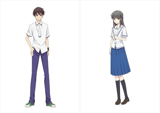 Fruits Basket - 2ª temporada revela Design de 2 Personagens