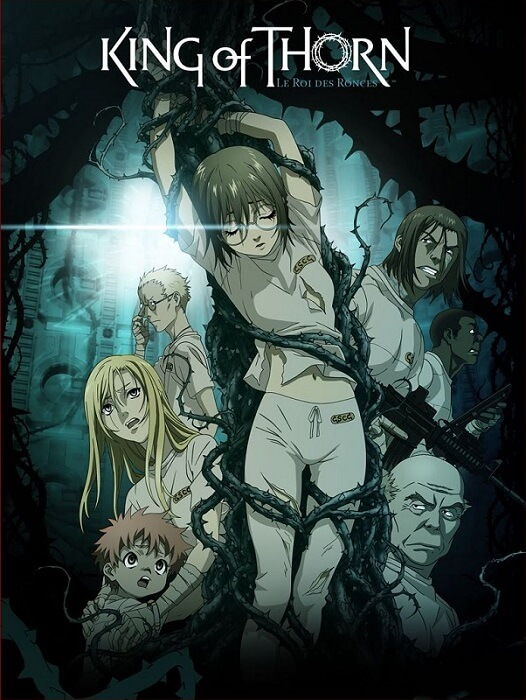 Ibara no Ou king of thorn poster oficial anime filme pandemia