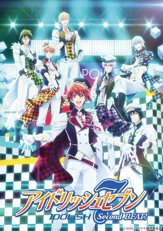 IDOLiSH7 Second Beat! – Anime revela a Data de Estreia