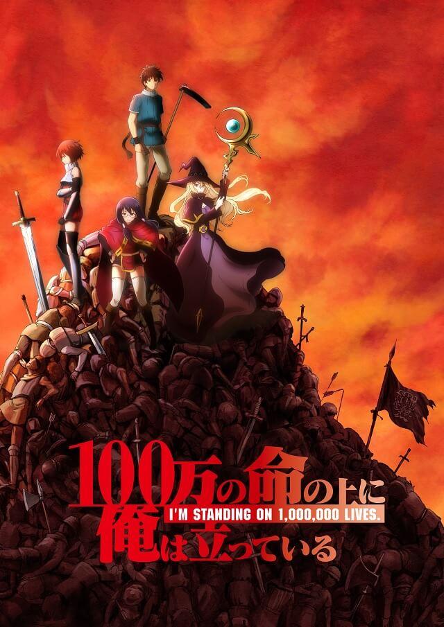 I'm Standing on a Million Lives - Manga recebe adaptação Anime