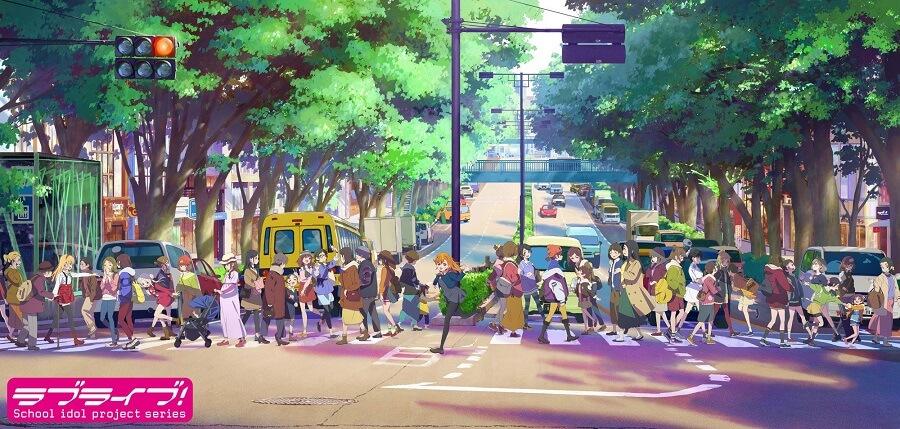 Love Live! - Novo anime revela Poster Promo
