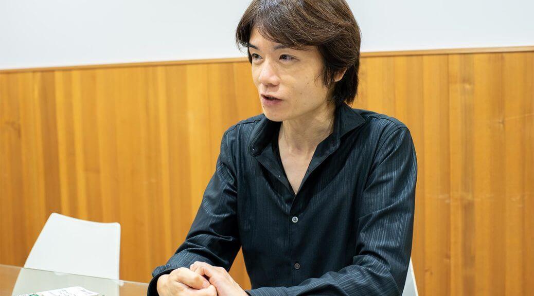 Masahiro Sakurai imagem covid19 super smash bros ultimate