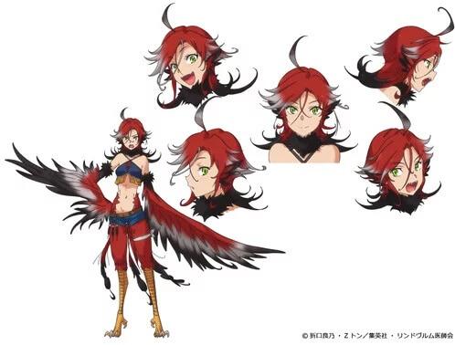 Monster Musume no Oisha-san Ily personagem