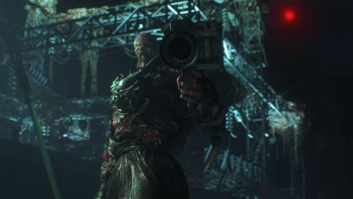 Nemesis Resident Evil 3 Remake Rocket Launcher Raccoon City