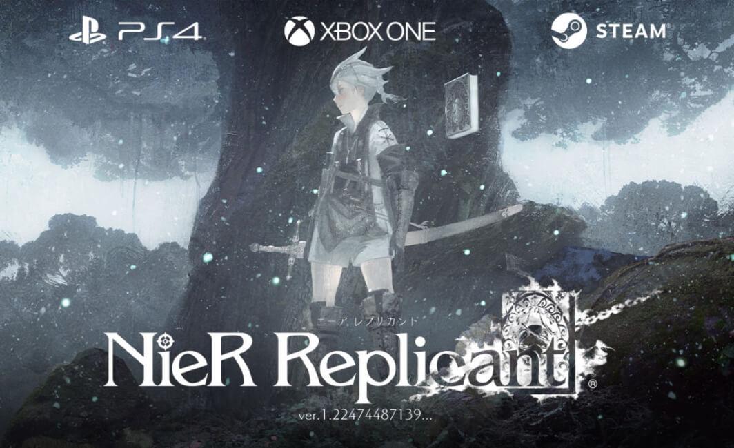 NieR Replicant - Capa do jogo