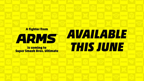 Personagem de ARMS Chega ao Super Smash Bros. Ultimate