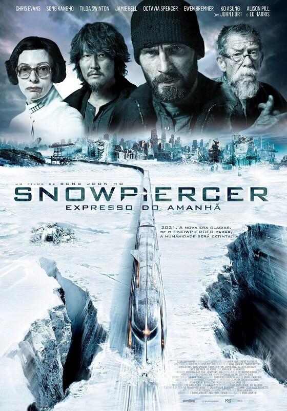 Snowpiercer - Expresso do Amanhã filme coreano poster oficial bong joon ho