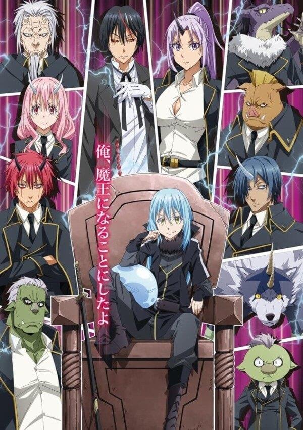 Tensei Shitara Slime Datta Ken - 2ª Temporada terá 2 Cours