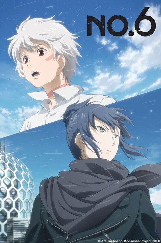 no.6 anime poster oficial pandemia Lista de 10 Anime sobre Pandemias