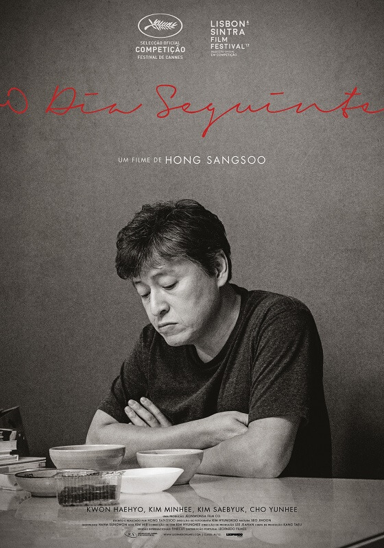 o dia seguinte Hong Sangsoo poster oficial medeia filmes