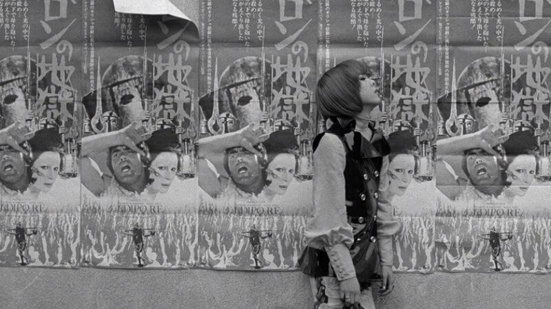 o funeral das rosas 1969 Toshio Matsumoto filme clássico imagem