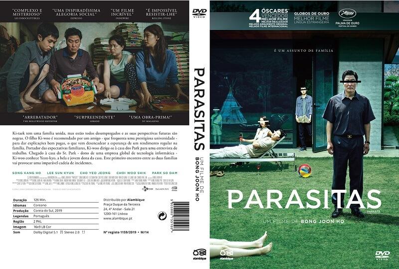parasitas capa oficial novo dvd alambique 2020