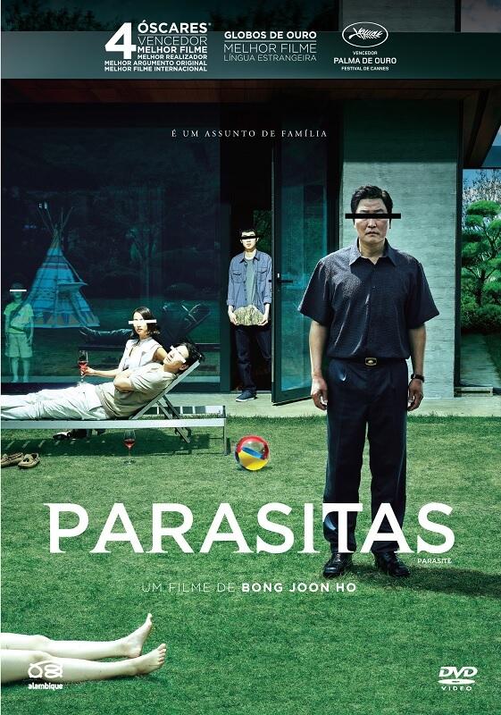 parasitas poster oficial novo dvd alambique 2020