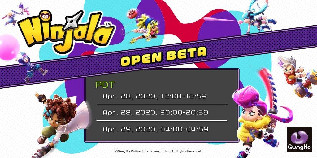 Ninjala - Jogo Recebe Open Beta em Abril