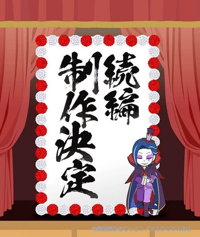 Isekai Quartet - Anime recebe Nova Sequela