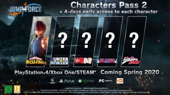 Jump Force Characters Pass 2 Destaque