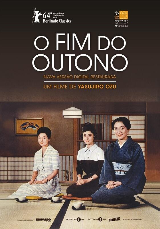 O Fim do Outono de Yasujiro Ozu Akibiyori filme japones poster oficial