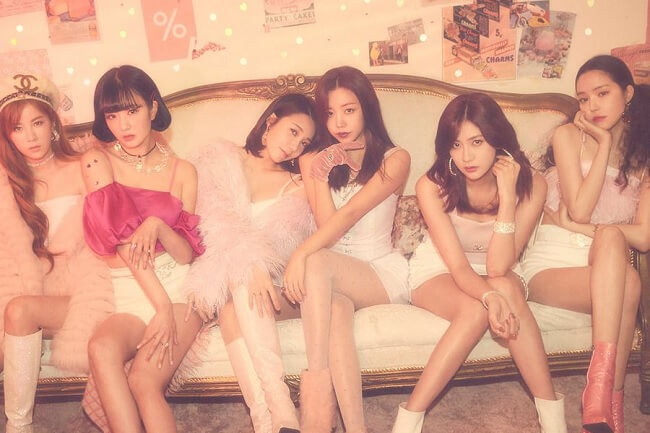 Apink regressam abril 2020