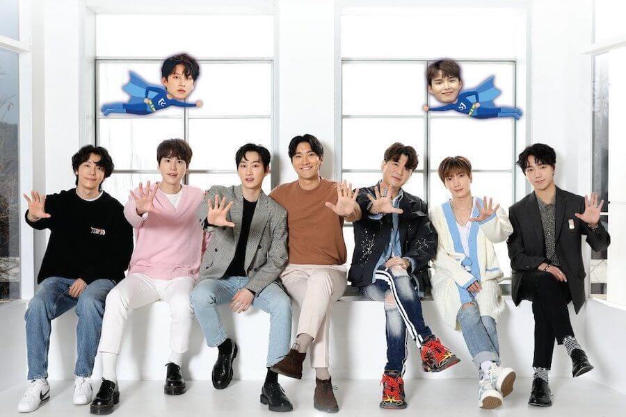 Super Junior lançam Nova Temporada de SJ Returns
