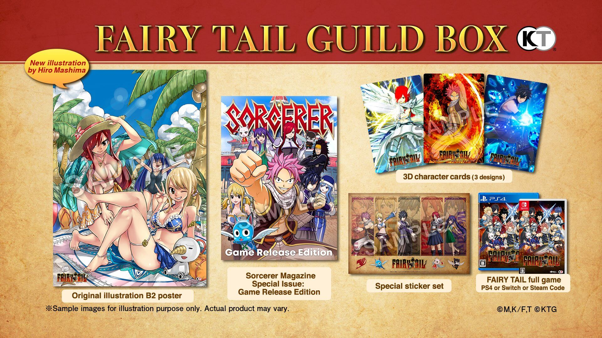 Fairy Tail - RPG revela Novo Preview Trailer