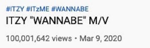 "ITZY - ""WANNABE"" é o MV mais Rápido a Atingir 100M"