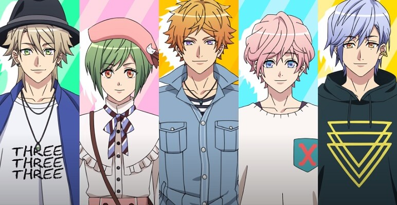 A3! – ANIME ANTEVÊ ARC 'SEASON SUMMER' EM VÍDEO