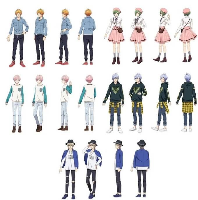 A3! - Anime antevê arc'Season Summer' em Vídeo