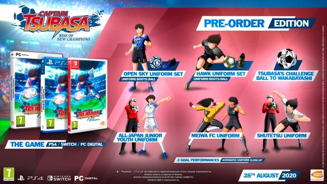 Captain Tsubasa: Rise of New Champions - Data de Lançamento anunciada