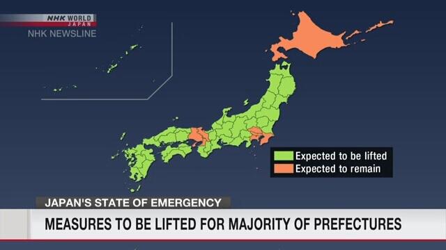Japão levanta Estado de Emergência em 39 Prefeituras