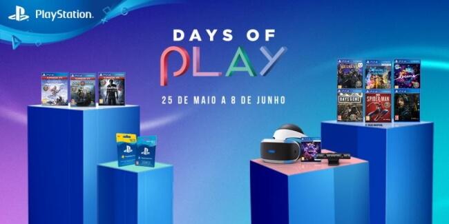 Promoções PlayStation Days of Play 2020 começam hoje