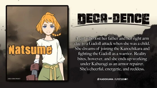 Deca-Dence - Anime revela Novo Poster e Elenco
