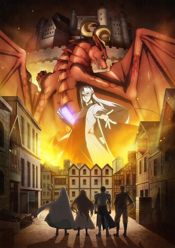 Dragon Ie wo Kau - Anime revela Poster e Equipa Técnica