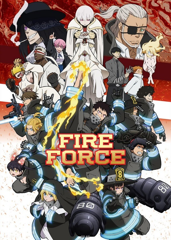 Fire Force 2ª Temporada - Anime recebe Novo Vídeo Promo
