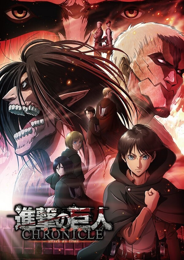 Attack on Titan - Temporada Final revela Vídeo e Novo Staff