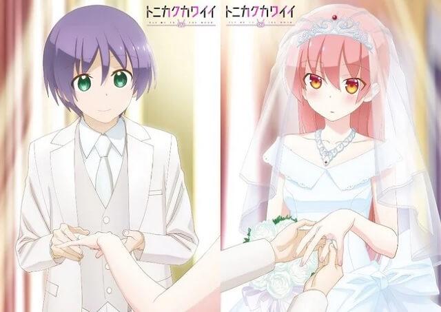 Tonikaku Kawaii - Anime recebe Vídeo Promocional