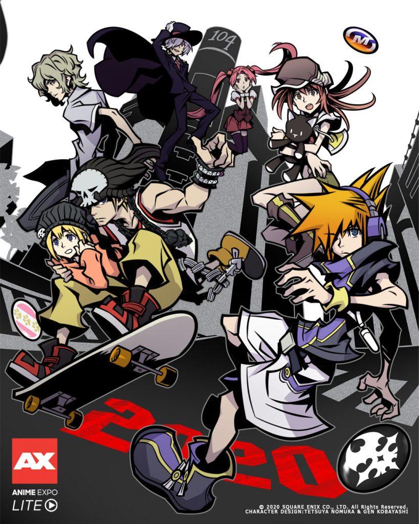 The World Ends with You - Jogo Recebe Adaptação Anime