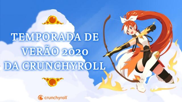CRUNCHYROLL ANUNCIA LANÇAMENTOS PARA A TEMPORADA DE VERÃO 2020