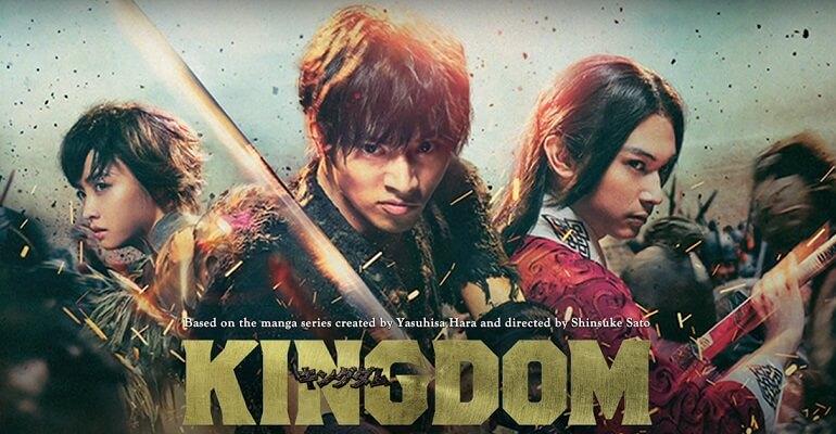KINGDOM – FILME LIVE ACTION RECEBE SEQUELA