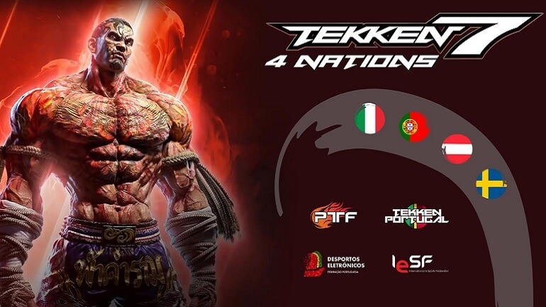 Tekken 7 - Portugal participa em Torneio Internacional