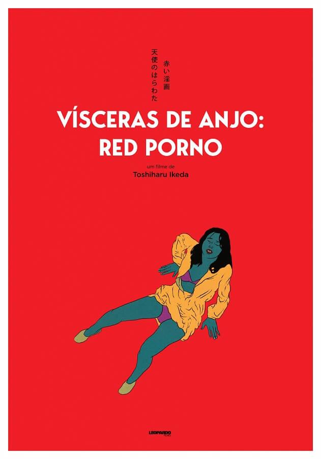 Vísceras de Anjo Red Porno poster oficial roman porno cinema japones toshiharu ikeda Ciclo Roman Porno disponível na Filmin Portugal