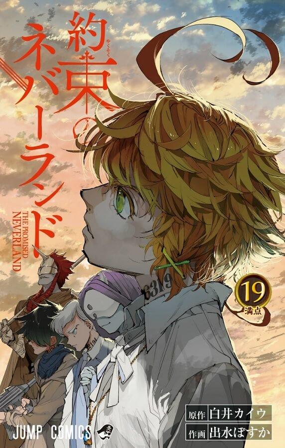 Capa Manga Yakusoku no Neverland Volume 19 Revelada