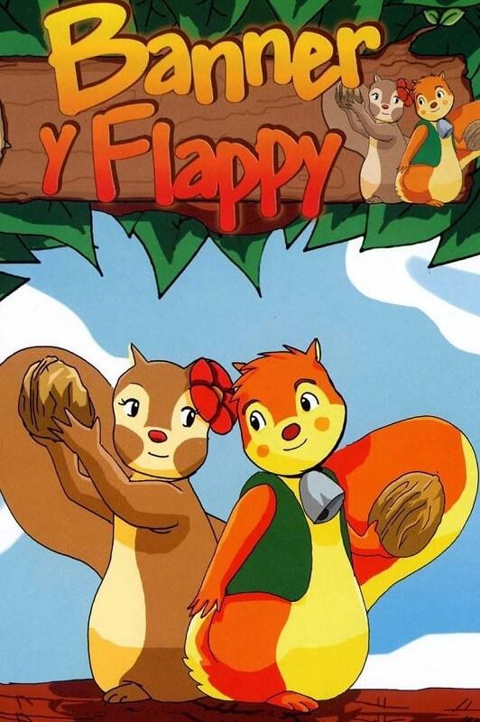 banner e flappy animação japonesa e alemã poster oficial