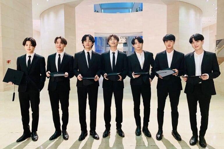 BTS recebem Prémio UNICEF Inspire 2020 Top Boy Groups Mais Reputados de Julho 2020 - KPOP
