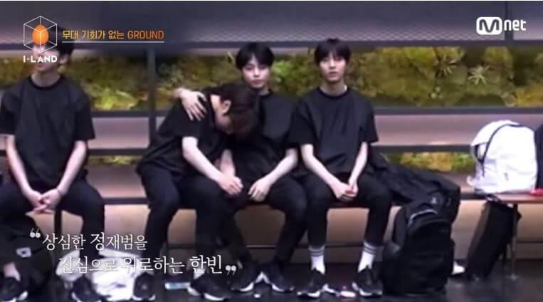 I-LAND Jaebeom I-LAND - Concorrentes disputam o centro na primeira atuação