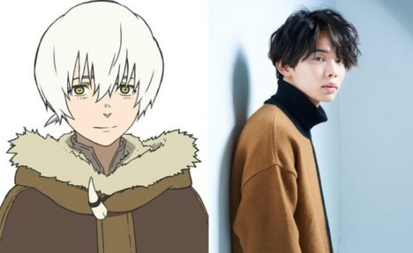 Reiji Kawashima como Fushi To your eternity