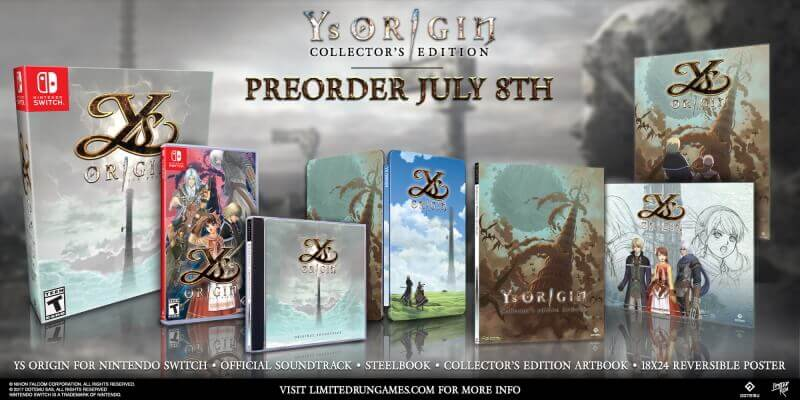Ys Origin Nintendo Switch Destaque