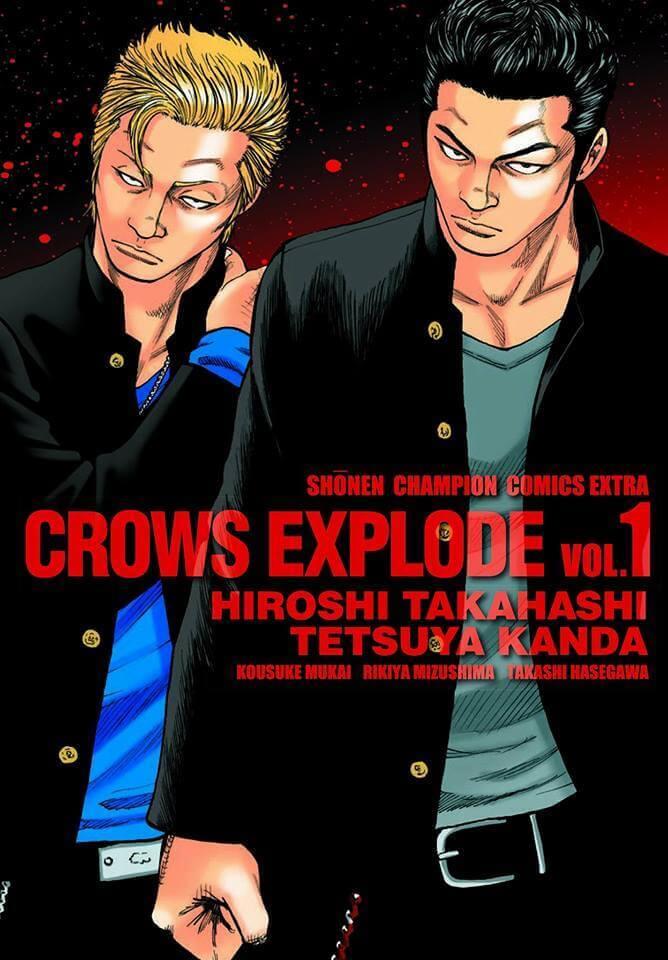 Crows Explode - Manga anuncia estar perto do Fim