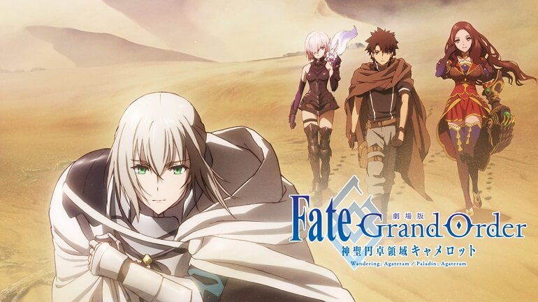FATE/GRAND ORDER – TEASER DO 1º FILME REVELA TEMA MUSICAL