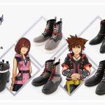 Kingdom Hearts 3 Coleção Calçado Disponível para Pré-reserva